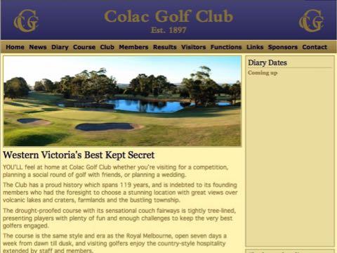 Colac Golf Club
